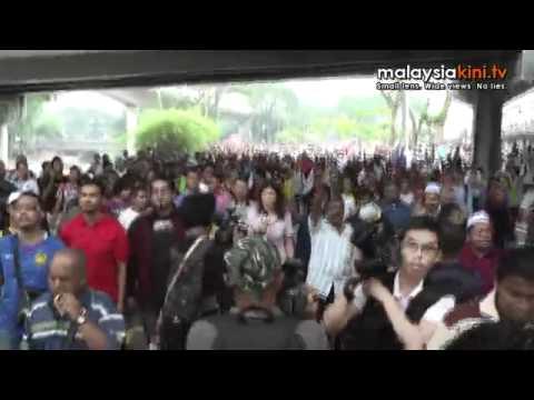 Bersih 2 0 From KTM to Pasar Seni | BahVideo.com