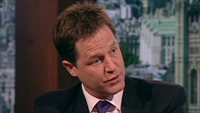 Phone hacking Nick Clegg on public confidence | BahVideo.com
