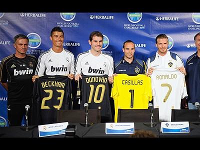 Real Madrid visita al Galaxy | BahVideo.com
