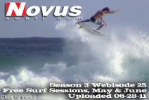 S3W25 Free Surf Sessions May amp June | BahVideo.com