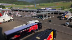 Tiltshift views from Red Bull Ring Grand  | BahVideo.com