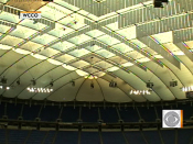 Football fans rejoice Metrodome roof gets  | BahVideo.com