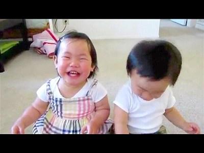 Kids Laugh At Water Spray | BahVideo.com