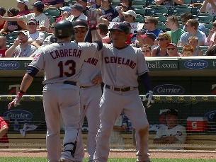 A. Cabrera's three-run shot | BahVideo.com
