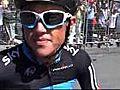 Simon Gerrans Before 2010 Vuelta a Espana Stage 5 | BahVideo.com