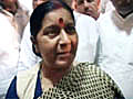 Bihar polls Sushma Swaraj hints at Modi not  | BahVideo.com