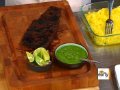 Grilled corn skirt steak tacos and grilled  | BahVideo.com