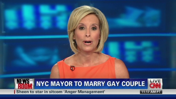 Bloomberg to officiate same-sex wedding | BahVideo.com