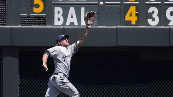 Brewers Hold Off Rockies 4-3   BahVideo.com