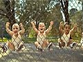 Funny Babies Rollerblading | BahVideo.com