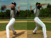 Pitcher throws lefty and righty | BahVideo.com