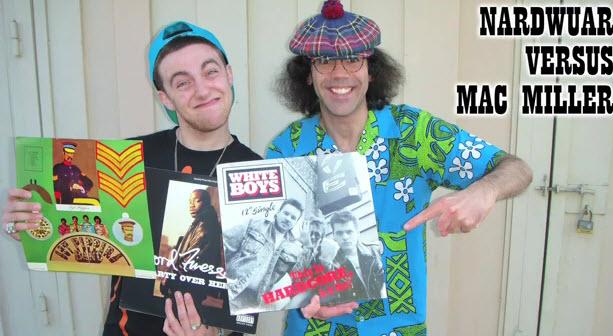 Mac Miller Vs Nardwuar Talks Big L  | BahVideo.com