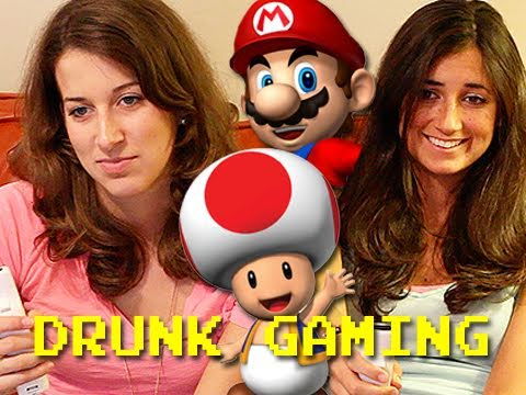 Drunk Gaming - Mario Party 8  | BahVideo.com