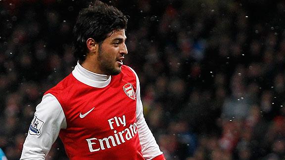 Vela volvi a anotar en gira del Arsenal en Asia | BahVideo.com