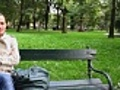 Woman sitting in the park and relaxing  | BahVideo.com