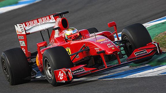 RPM Semanal Sergio P rez probar el Ferrari F2009 | BahVideo.com