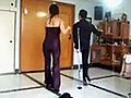 Salsa Dancing on One Foot | BahVideo.com
