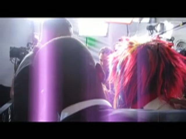 Won-G and George Clinton behind the scenes  | BahVideo.com