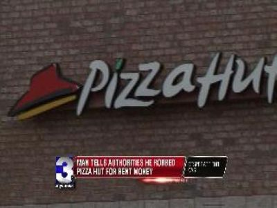 Man Says He Robbed Pizza Hut for Rent | BahVideo.com