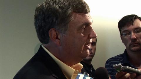 Ga. Tech football coach Paul Johnson on NCAA sanctions | BahVideo.com