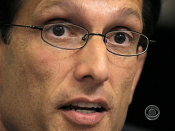 Dems go after Rep Cantor | BahVideo.com
