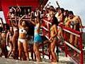 Bikini babes are hot on beach | BahVideo.com