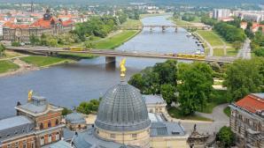 Reportage Osteurop er in Dresden | BahVideo.com