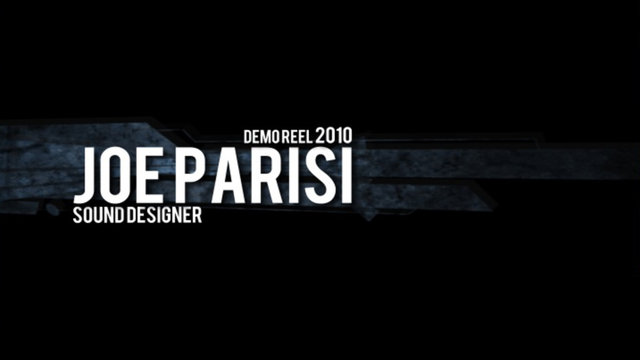 Joe Parisi Demo Reel 2010 | BahVideo.com