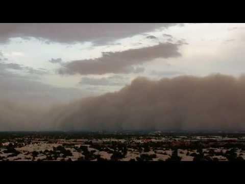 Phoenix Dust Storm Timelapse July 5 2011 | BahVideo.com