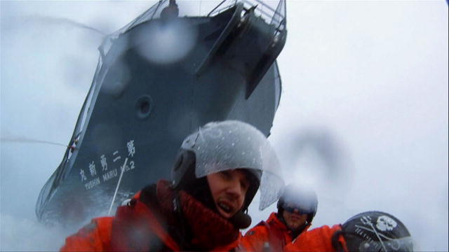 The Making of Whale Wars: Filming the Charge | BahVideo.com