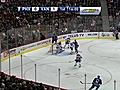 Alexandre Burrows SHOT on Marty Turco -  | BahVideo.com