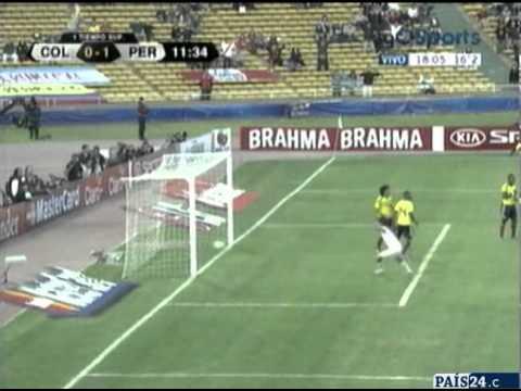 Colombia 0 - Perú 2 - Copa América 2011 -