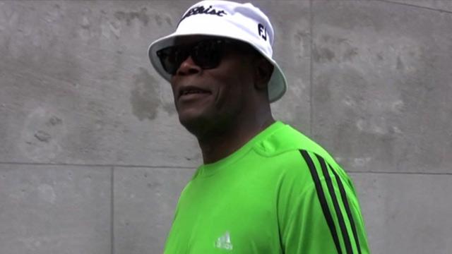 Samuel L Jackson amp amp 8212 Eying J Lo  | BahVideo.com