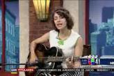 La cantautora Gaby Moreno en Al Despertar  | BahVideo.com