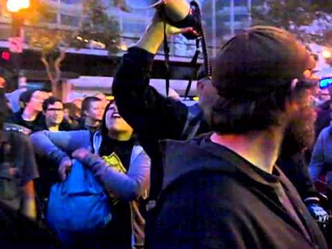 Mass Arrest In Oakland - Exyi - Ex Videos   BahVideo.com