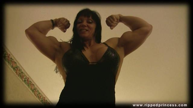 JANA LINKE-SIPPL fbb preview1 HD huge muscle biceps | BahVideo.com