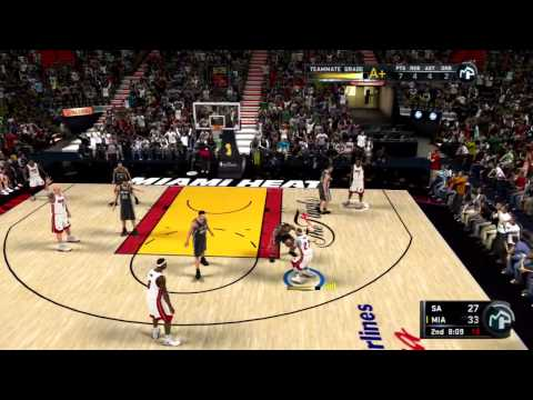 NBA 2K11 My Player Playoffs - NFG4 - The  | BahVideo.com