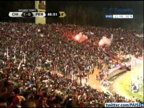 Chile 1   Perú 0 - Copa América 2011 -