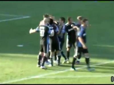 Il marque un but de l autre bout du terrain  | BahVideo.com