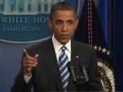 Obama Americans back me on debt deal | BahVideo.com