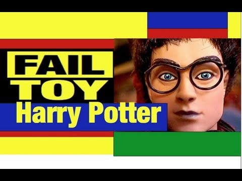 Harry Potter Dolls Fail Toy Review by Mike Mozart @JeepersMedia Puppet Sorting Hat too | BahVideo.com