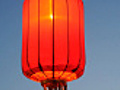 Asian Red Paper Lantern | BahVideo.com