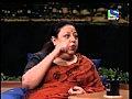 Shekhar chats with actress Honey Irani -  | BahVideo.com